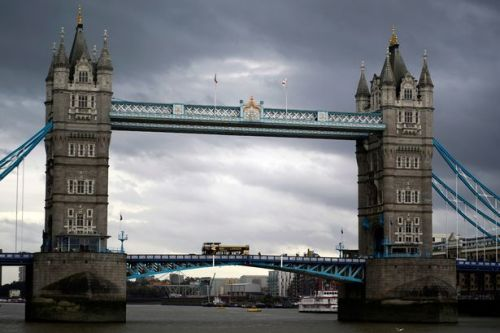 Tower Bridge closed by police as person seen climbing up structure