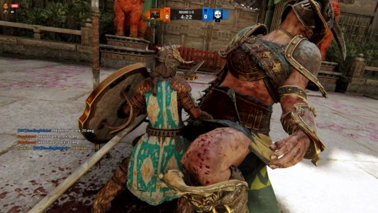 For Honor made all of its fighters into smol beans for April 1