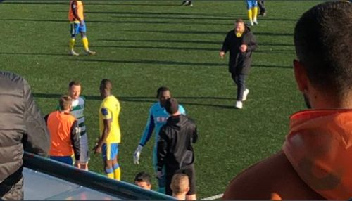Haringey Borough walk off after racist abuse during Yeovil FA Cup tie