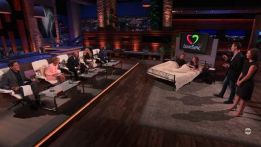 The married couple who created a wacky sex button went on 'Shark Tank', and the investors didn't understand why it even exists