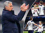 Jose Mourinho hails Tottenham's attack after Harry Kane and Gareth Bale score twice
