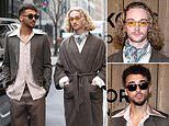 Toffees in the Big Apple: Tom Davies and Dominic Calvert-Lewin take in New York fashion week