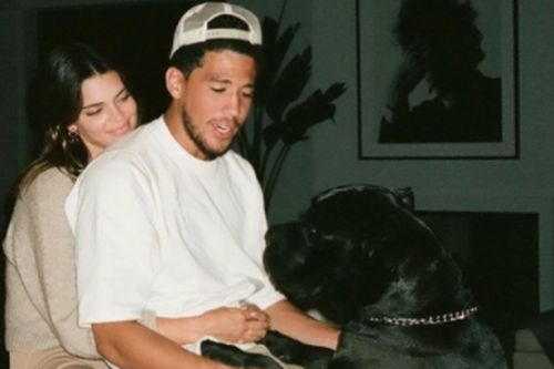 Kendall Jenner straddles and cuddles beau Devin Booker in rare Instagram PDA