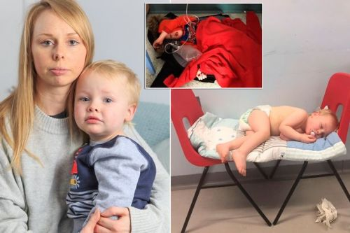 Mum's heartbreaking pic warned Tories about NHS cuts two years ago - and it's got worse