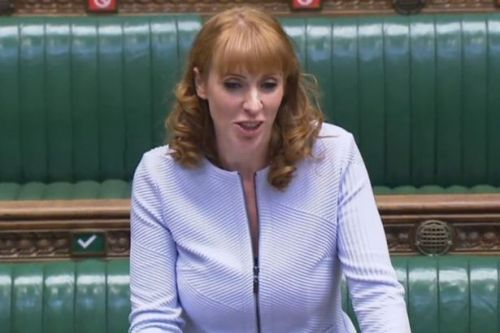 Labour deputy leader Angela Rayner apologises for calling Tory MP 'scum'