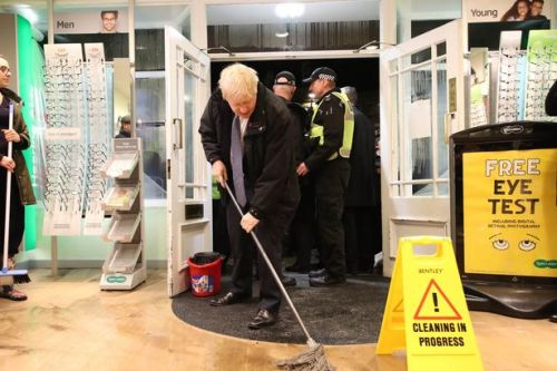 Boris Johnson bows to pressure to chair emergency COBRA meeting over floods