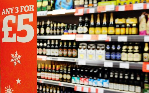 Alcohol sales fall in Scotland's supermarkets following the introduction of minimum unit pricing