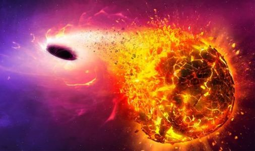 Black hole CATACLYSM: Earth falling into a black hole will erupt with unimaginable force