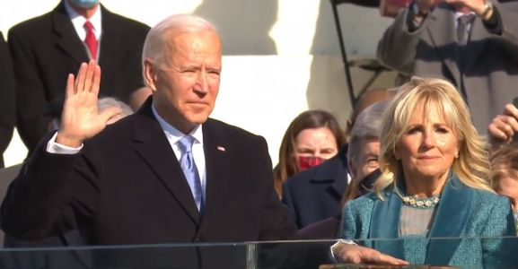 Joe Biden replaces Donald Trump as he's sworn in as 46th President of the United States