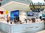 7-Eleven Taiwan convenience stores - complete with 'luxury' cafés, chandeliers and beer on tap