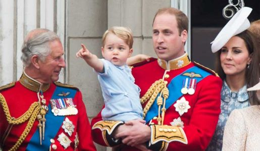 Prince George spotted in adorable baby photo in grandad Prince Charles' home office