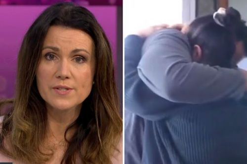 Susanna Reid fights back tears in emotional Good Morning Britain moment