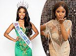 Miss England 2021 winner, 25, shares new pictures of getting ready for competition