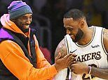 Kobe Bryant congratulated Lebron James in his last tweet