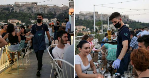 Greece imposes bar and restaurant curfew from tomorrow after spike in cases