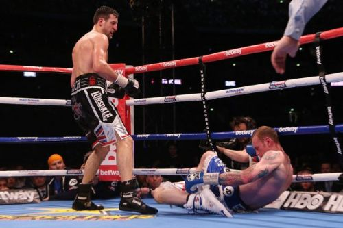 Carl Froch calls out former rival Joe Calzaghe six years after retiring