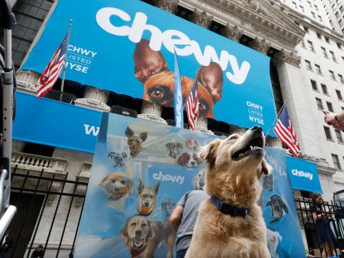 Chewy slips after its inaugural earnings report as investors wonder if the stock is too expensive