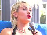 Miley Cyrus claims her first sexual experience was a threesome with two girls