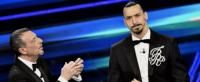 Ibrahimovic makes Sanremo Festival debut