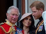 Prince Charles will make £2m contribution to Prince Harry and Meghan's £4m-a-year security bill