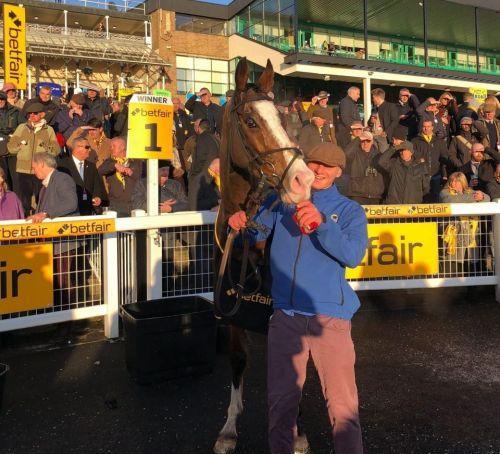 Cornerstone Lad out to stake Champion Hurdle claim at Haydock on Saturday