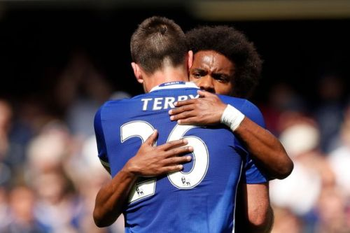 John Terry's message to Willian ahead of Arsenal transfer unveiling