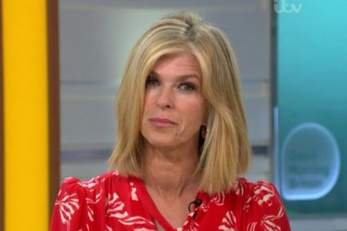 Kate Garraway returns to GMB and reveals David Beckham's private message to her
