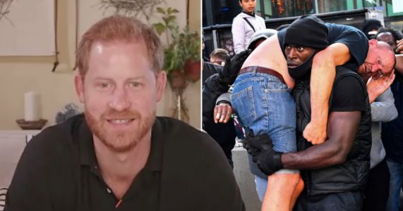Prince Harry says he 'didn't know racial bias existed until he lived in Meghan's shoes'