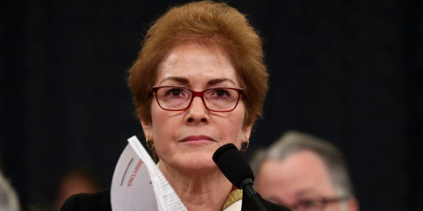 Marie Yovanovitch gave powerful and incriminating testimony in the Trump impeachment hearing. Here are the biggest takeaways
