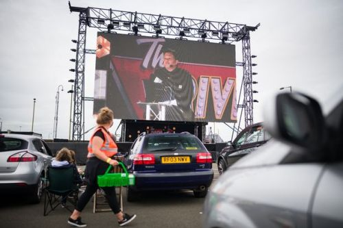 Dom Joly's windy debut is socially-distancing in every way -Drive-In Club Review