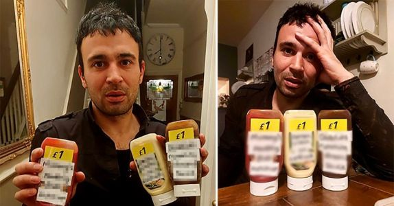 Man outraged at Pizza Hut's 'sexual' ketchup pranked with sauce left at his door