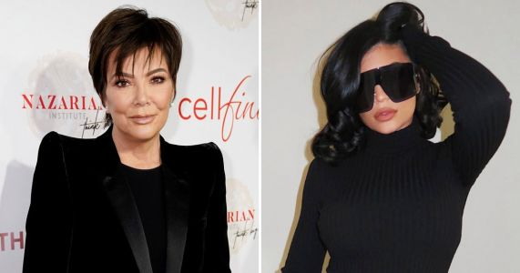 Kylie Jenner imitates momager Kris in all-black outfit just weeks after Khloe's impersonation