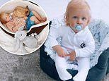Joe Swash buys son Rex, 13 months, his own DOG BED after his little boy kept 'stealing' their poochs