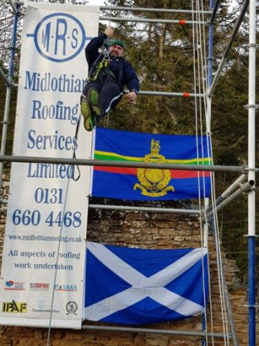 Royal Marine veteran scaling to new heights for NHS