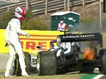 Pierre Gasly's car catches FIRE during second practice for Portuguese Grand Prix