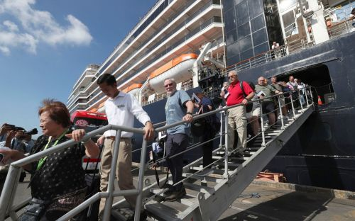Woman tests positive for coronavirus after two weeks stuck at sea on Westerdam cruise