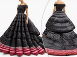 Luxury fashion brandMoncler is mocked online for creating a gown which looks like a 'sleeping bag'