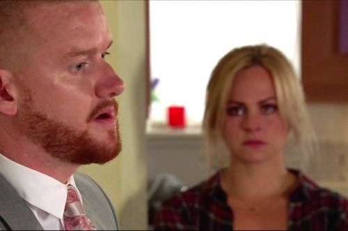Corrie's Gary to 'ditch Maria at the altar' after realising he loves Sarah