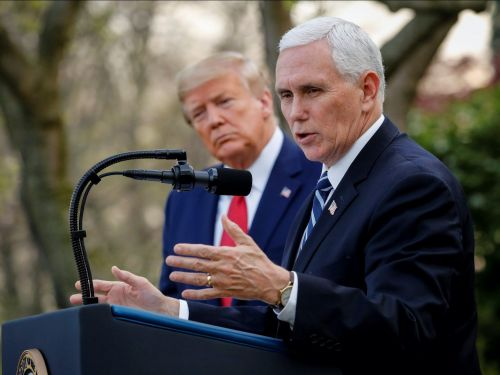 Vice President Pence has dropped off the national radar amid police brutality protests. Trump insiders say there's a reason for that