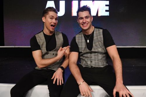Strictly's AJ Pritchard reckons he and brother Curtis could be new Ant and Dec