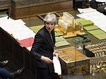 Officials 'draw up plan to deal with May collapse in Commons amid health fears'