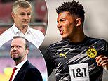 Manchester United in danger of missing out on Jadon Sancho as they offer him a wage cut