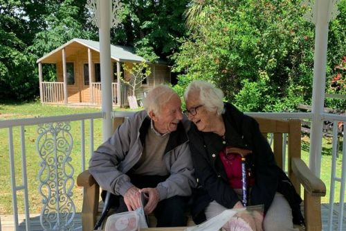 Couple in their 90s separated by covid for longest time in 70 years are reunited