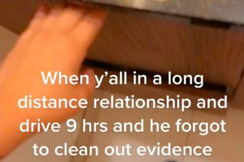 'I drove 9 hours to see my boyfriend but his bathroom exposed he was cheating'