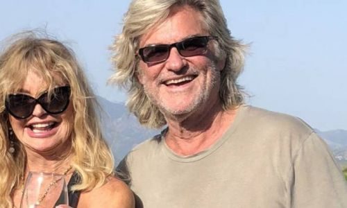Inside Goldie Hawn and Kurt Russell's never-ending garden at family home