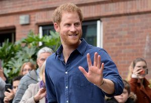 Prince Harry tells a crowd, please 'just call me Harry'