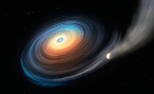 In a first, astronomers find traces of a planet orbiting a white dwarf