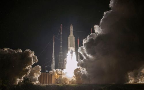 British-built spacecraft blasts off on mission to Mercury