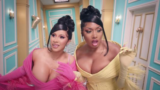 Cardi B and Megan Thee Stallion achieve highest new entry on UK Singles Chart with WAP
