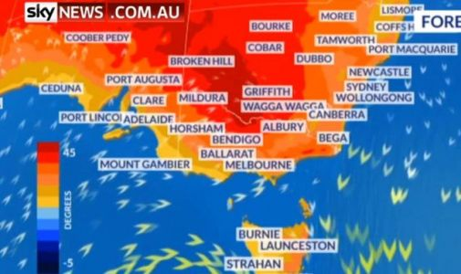 Australia swelters as temperatures approach 50C